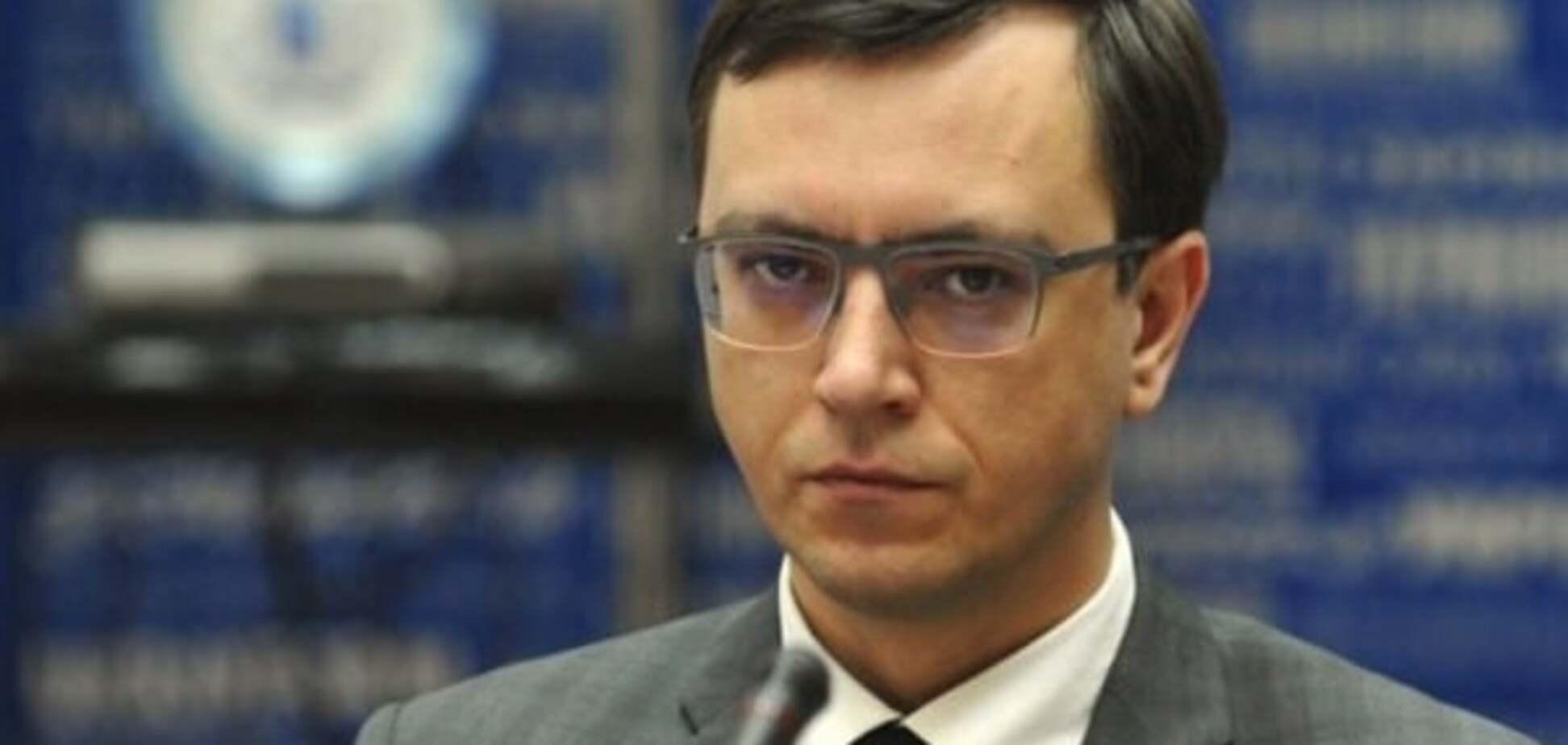 Глава Министерства инфраструктуры Украины