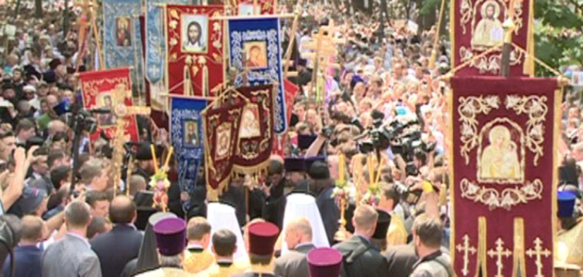 Бойко заявил, что участники крестного хода молились за мир и процветание Украины