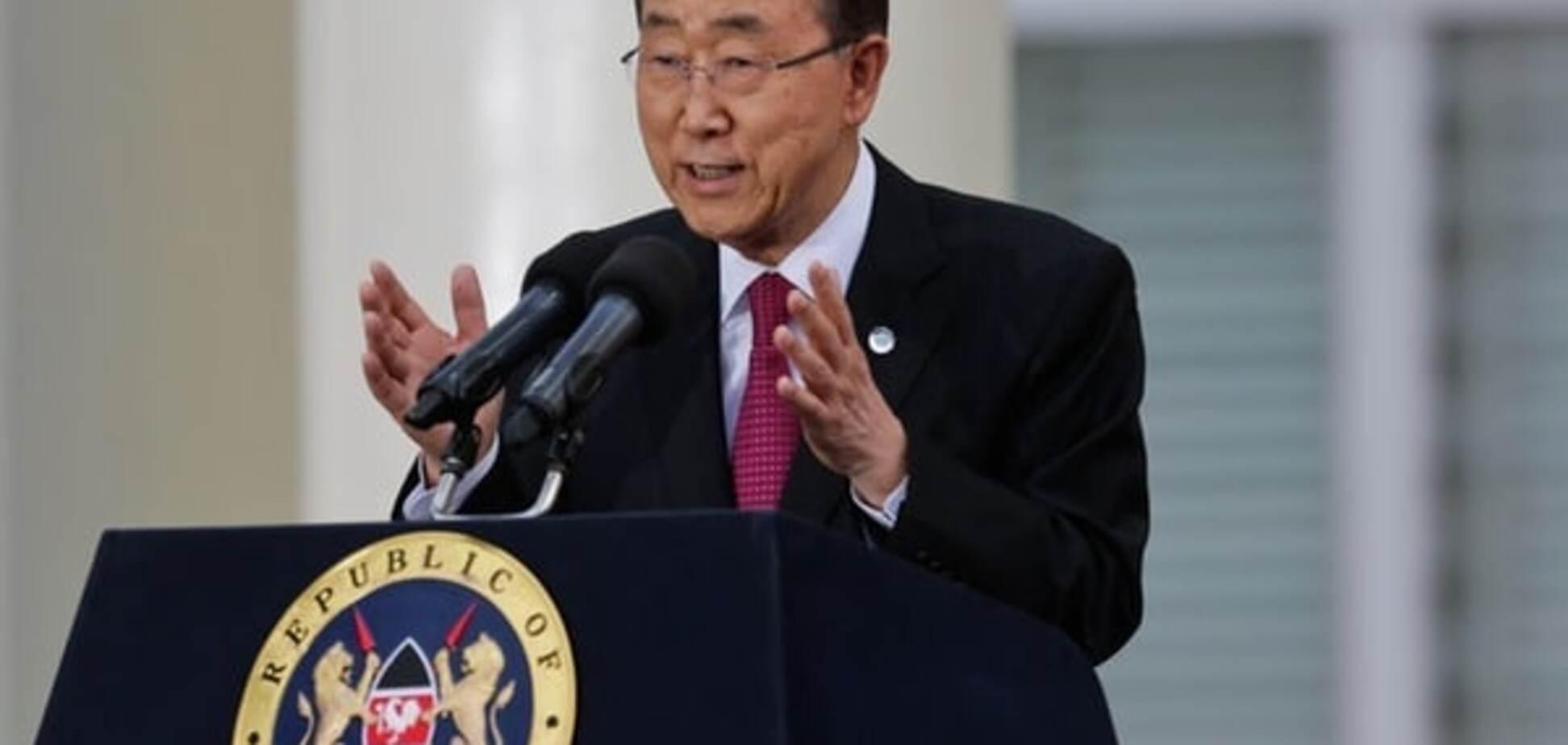 Олимпиада 2016, ООН, Пан Ги Мун