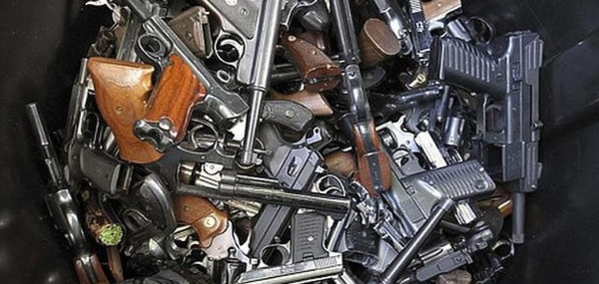 Контрабанда оружия в Украине