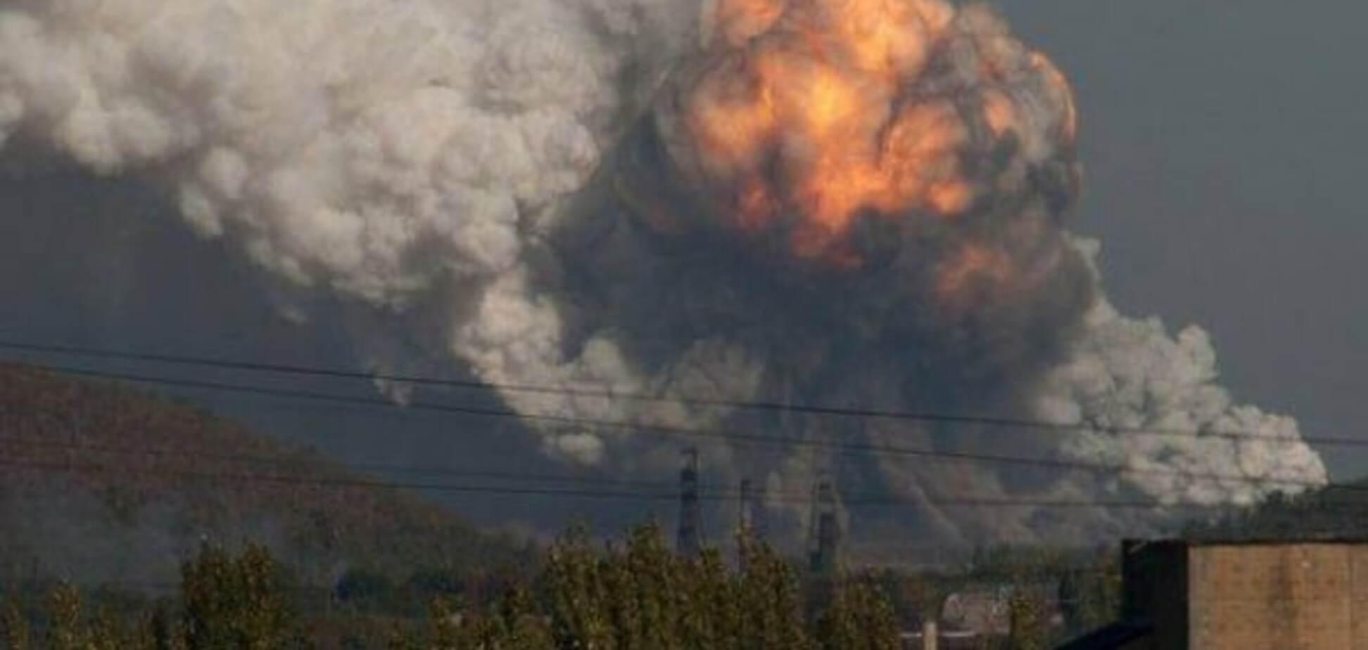 Взрыв на Донбассе