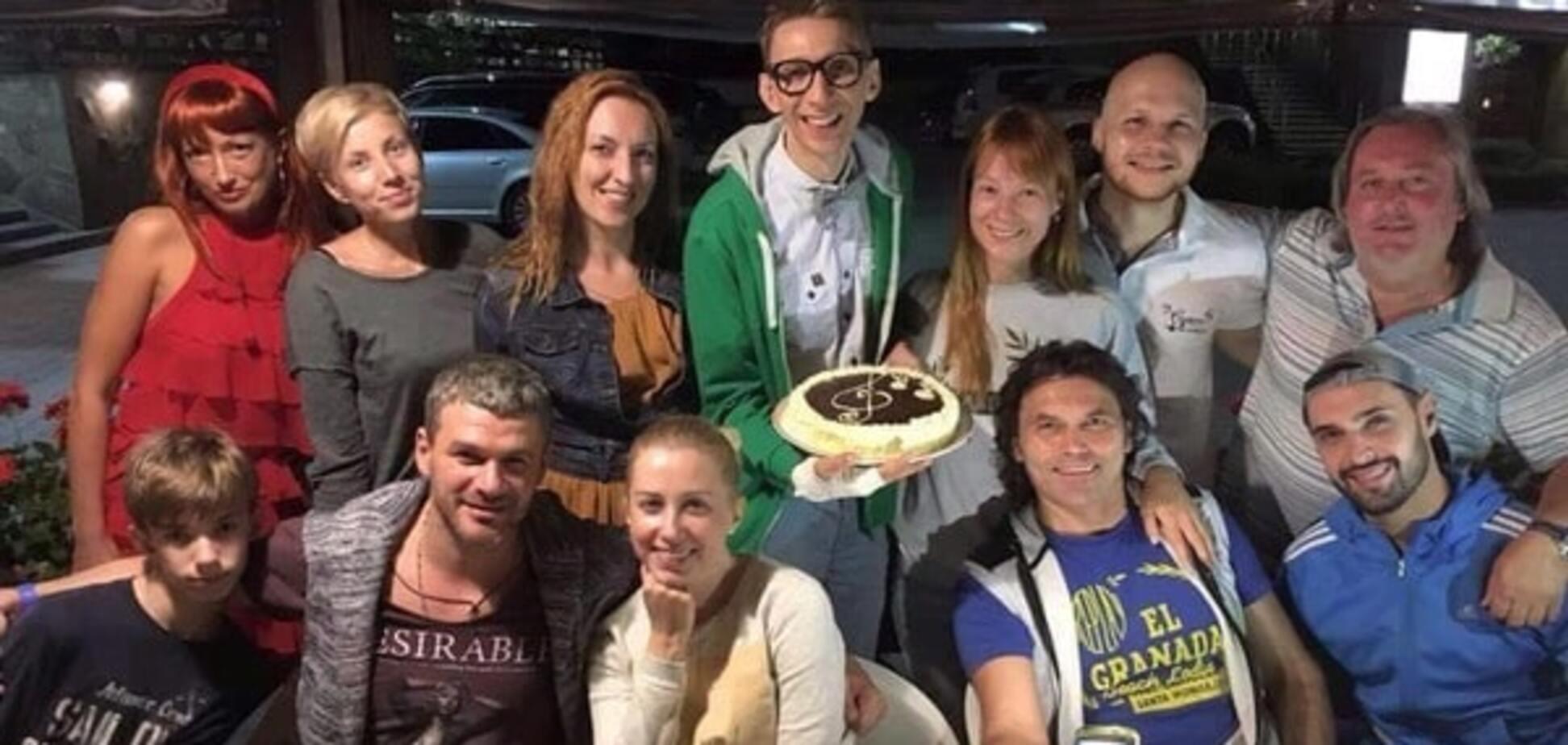Слава Соломка отпраздновал день рождения в Карпатах с Дарвином, Козловским и Тарабаровой