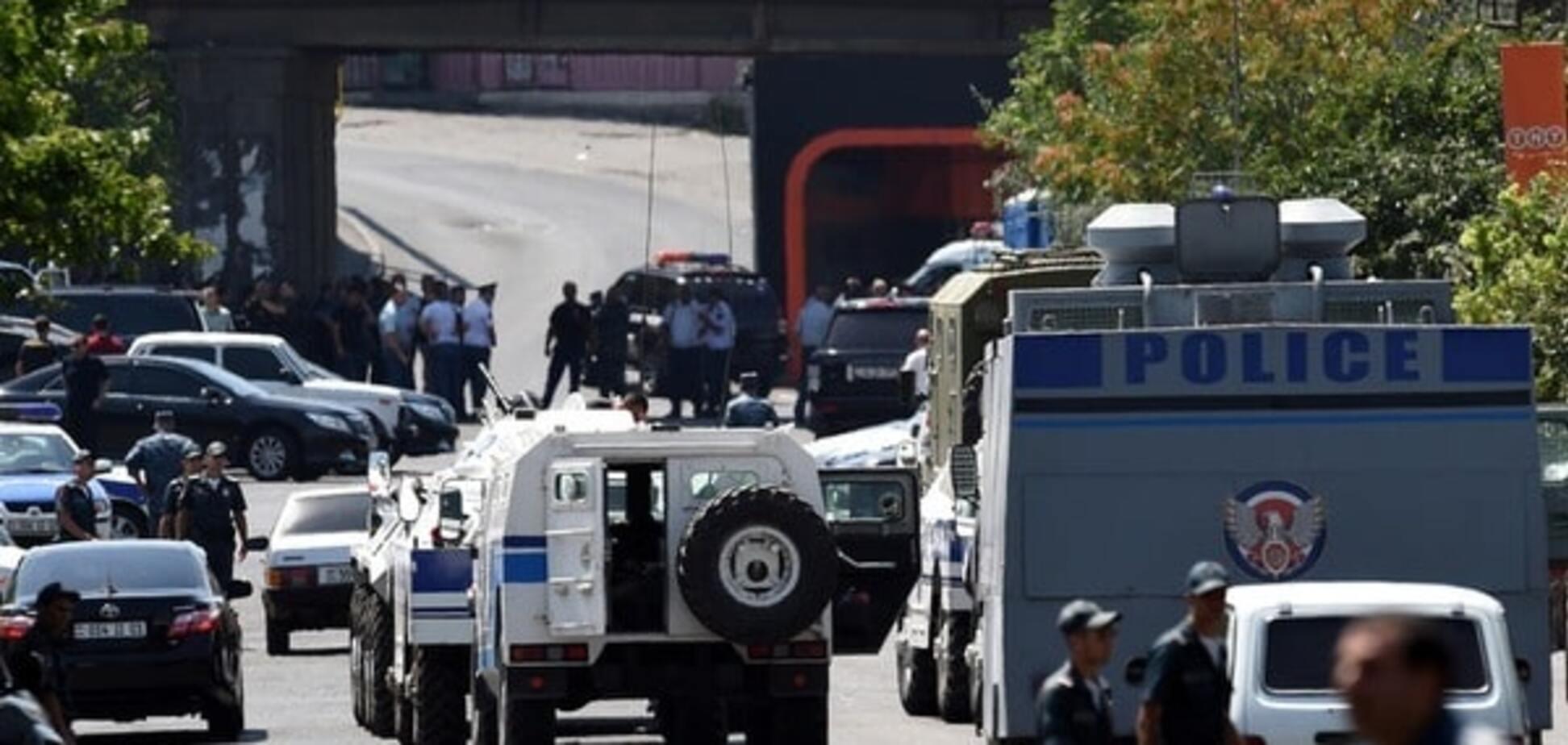 Беспорядки в Ереване