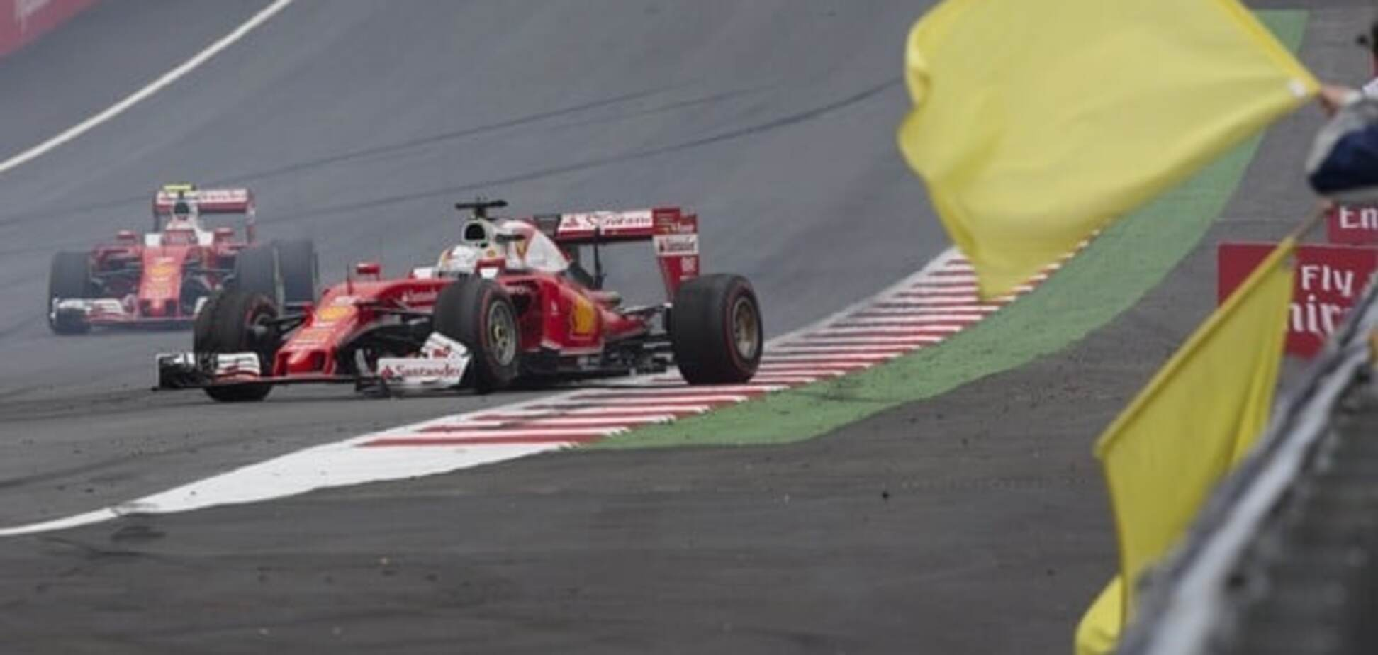Шок для Ferrari. На Гран-при Австрии Феттель попал в аварию на скорости 300 км/ч: видео крушения