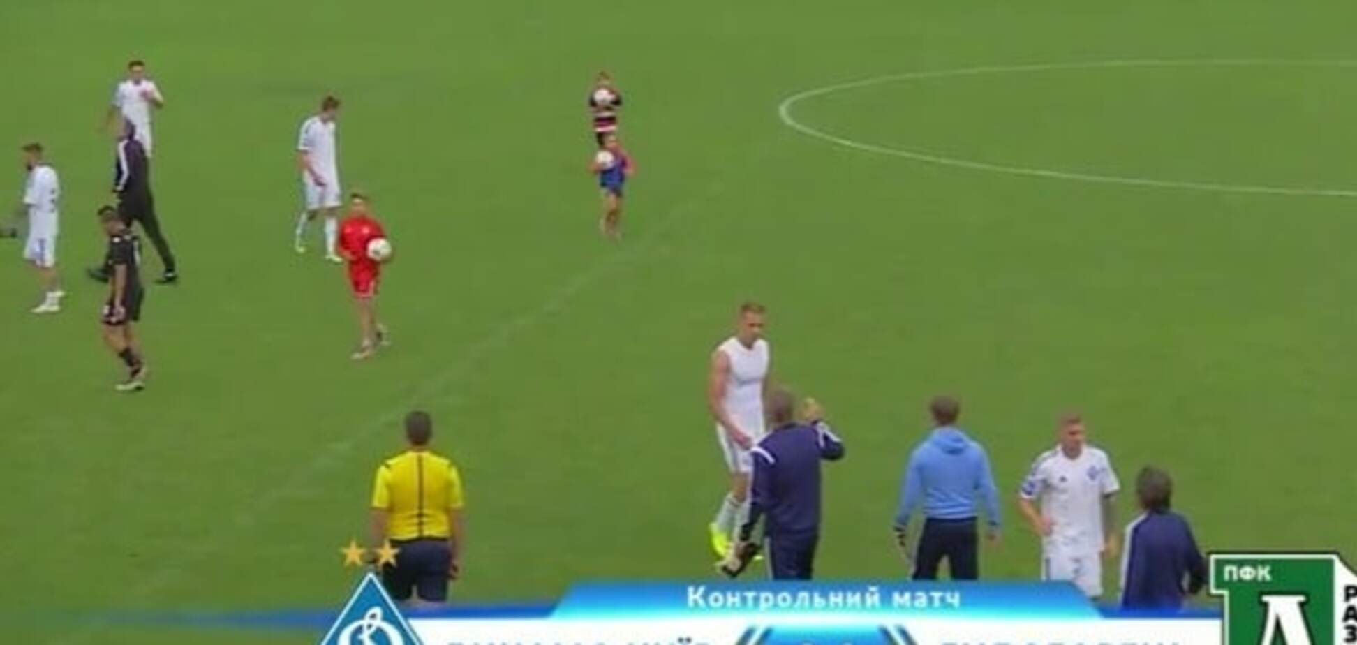 Динамо обыграло Лудогорец
