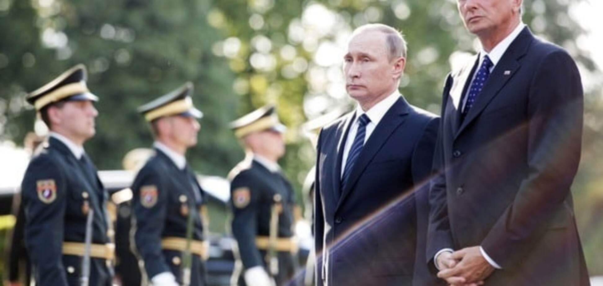 Путин в Словении