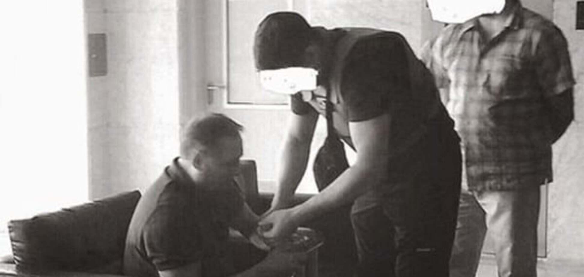 Задержание Александра Ефремова