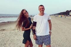 Игорь Верник с подругой