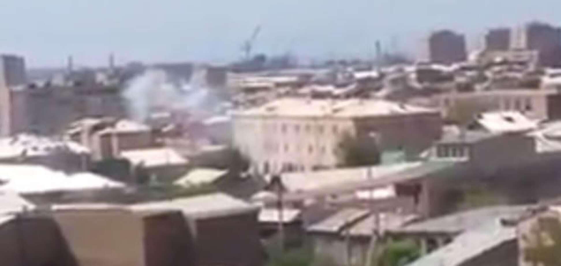 Стрельба в Ереване