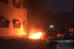 Взрыв в Катифе