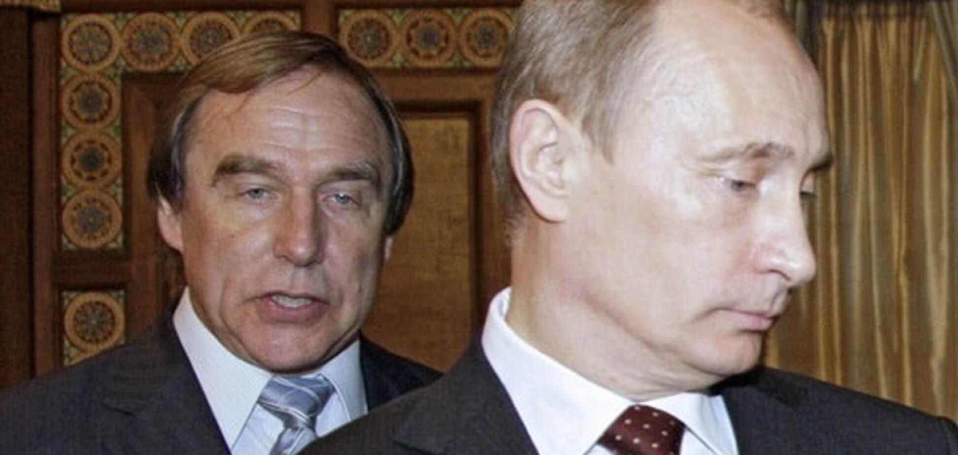 Путин и Ролдугин