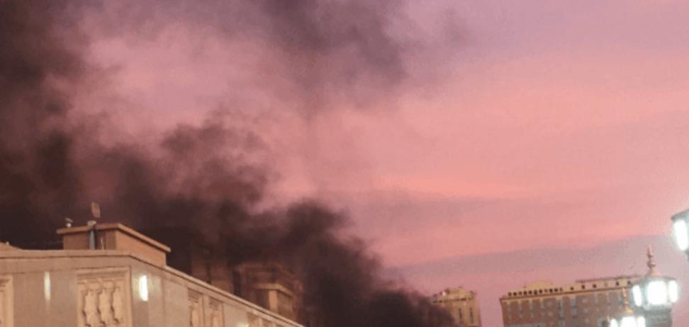 Теракт у мечети в Медине