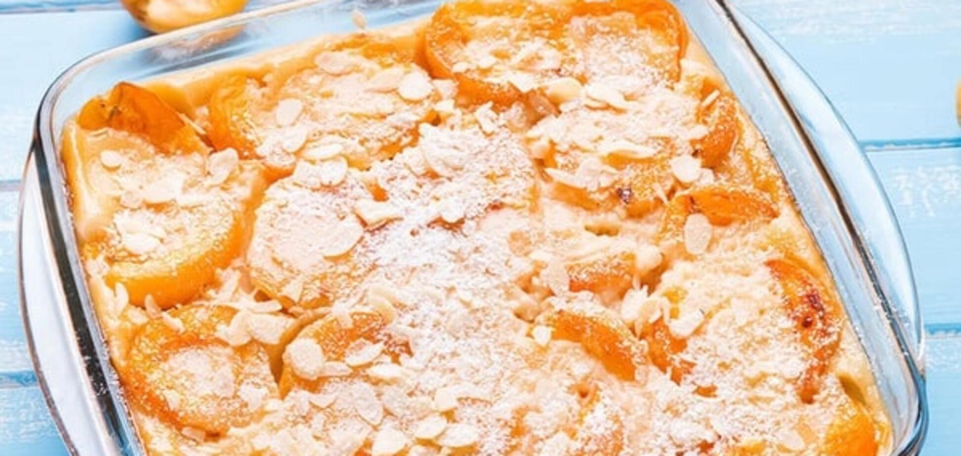 Рецепт найніжнішого клафуті з абрикосів