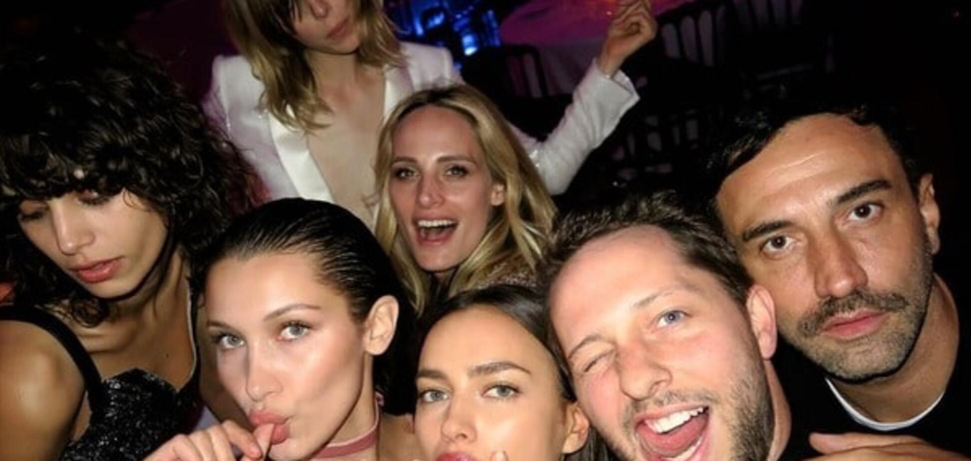 Ирина Шейк с друзьями