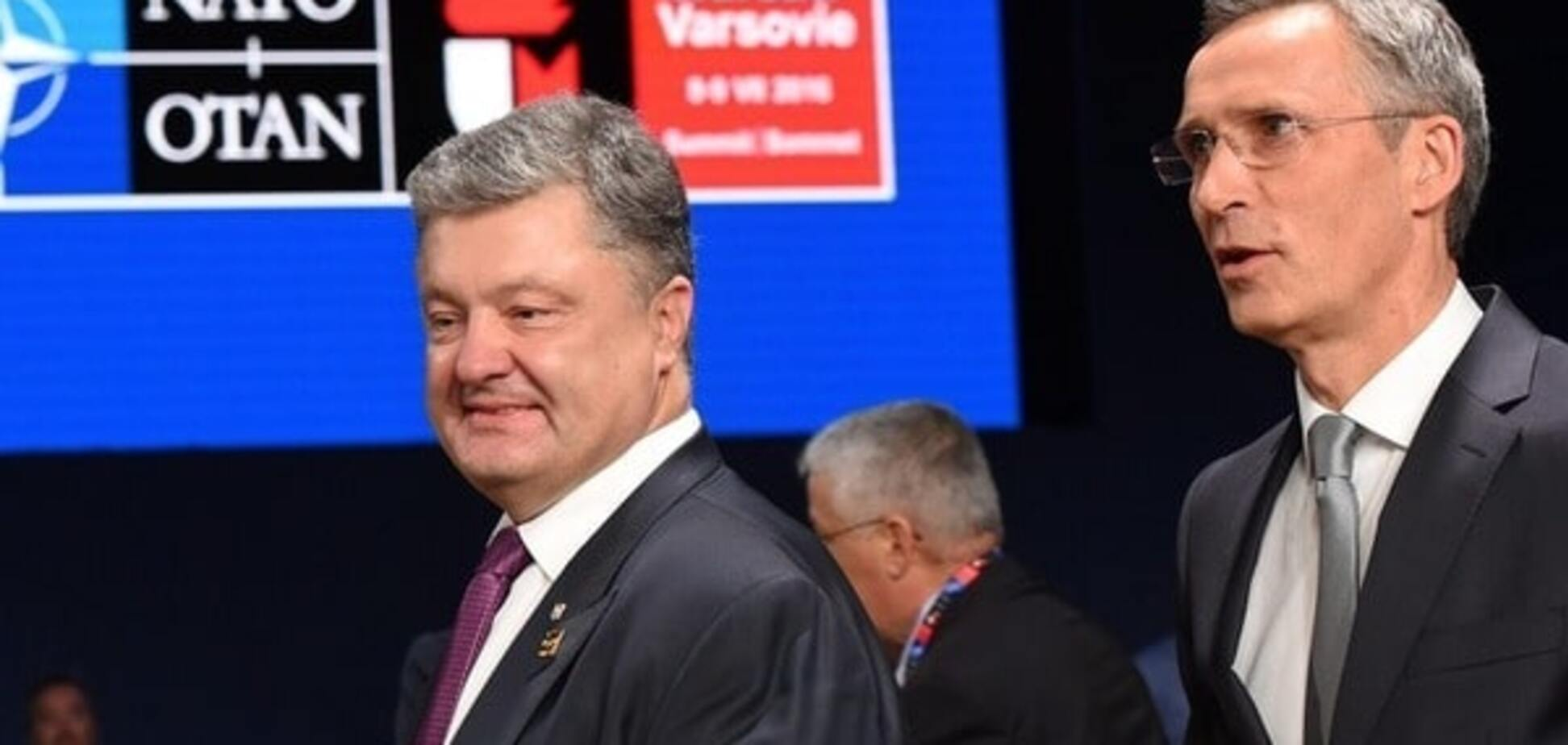 Петро Порошенко і Йенс Столтенберг