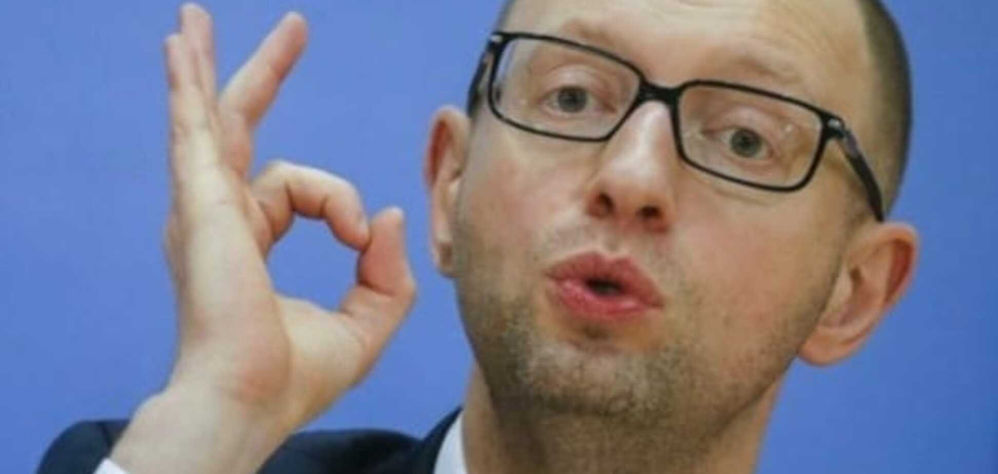 'Кулявлоб' срикошетила: в сети высмеяли Яценюка, который пытался критиковать Трампа