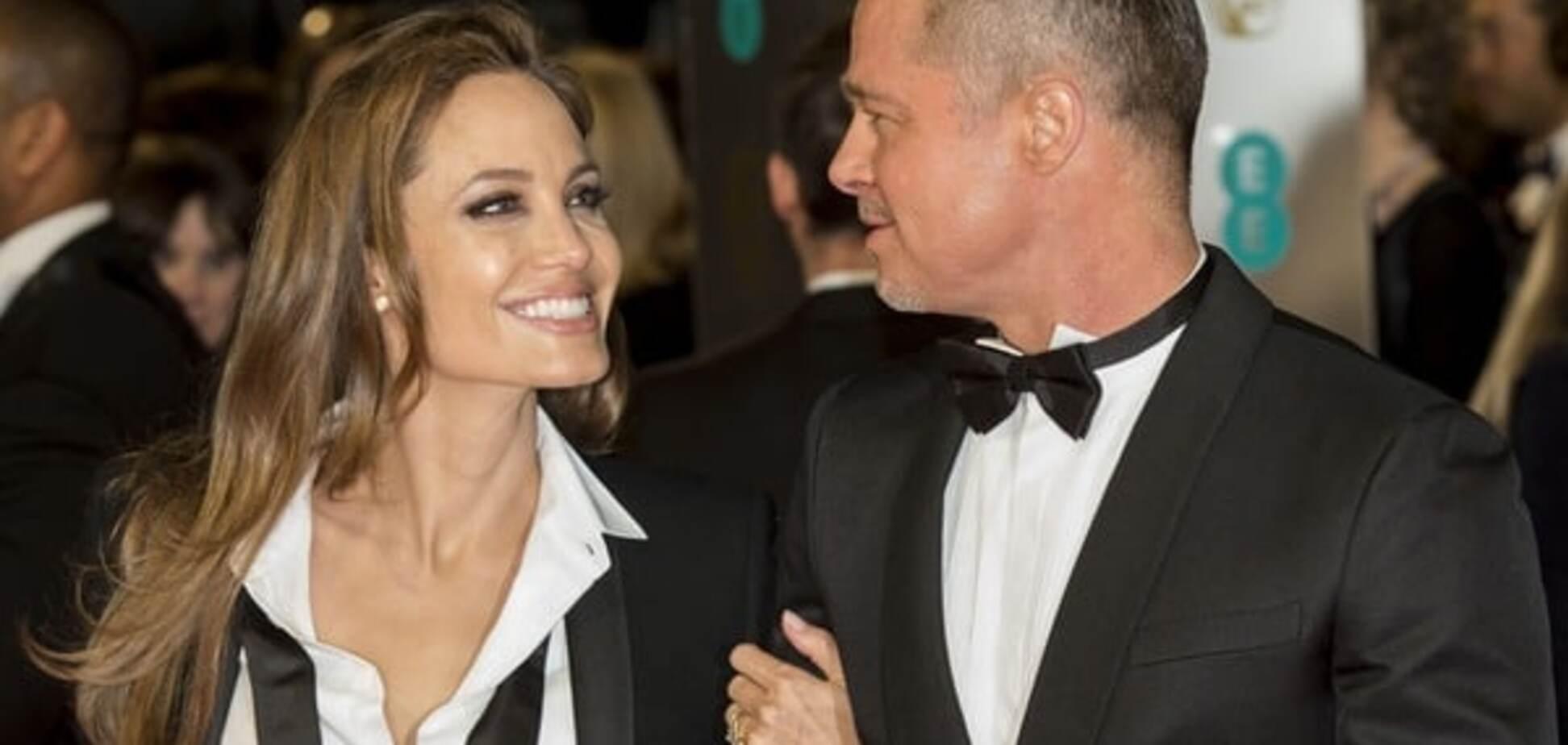 Джоли и Питт фото