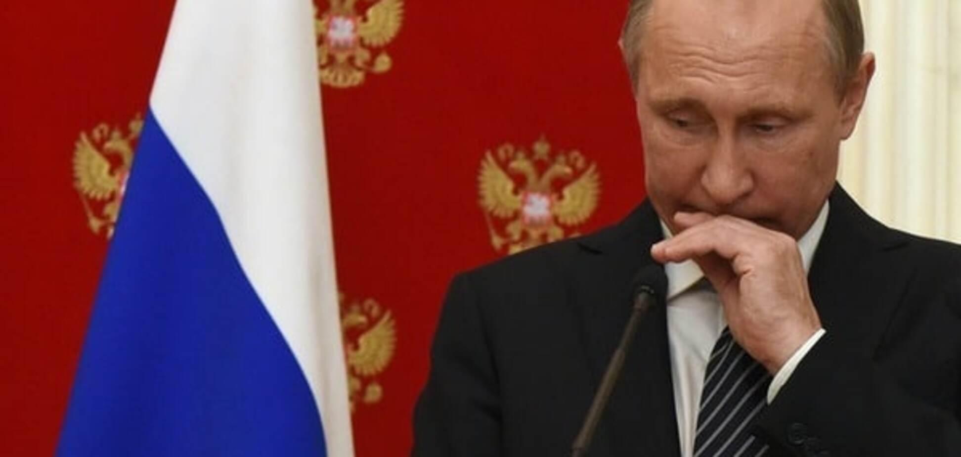 Товарищ Путин выдыхается