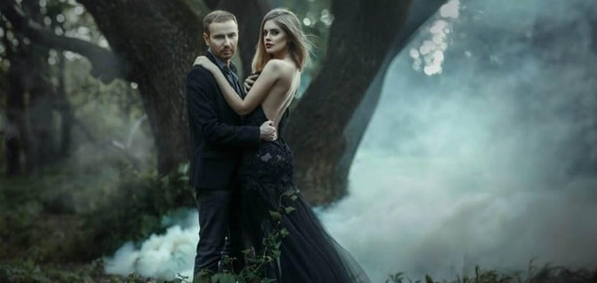 Денис Повалий с женой