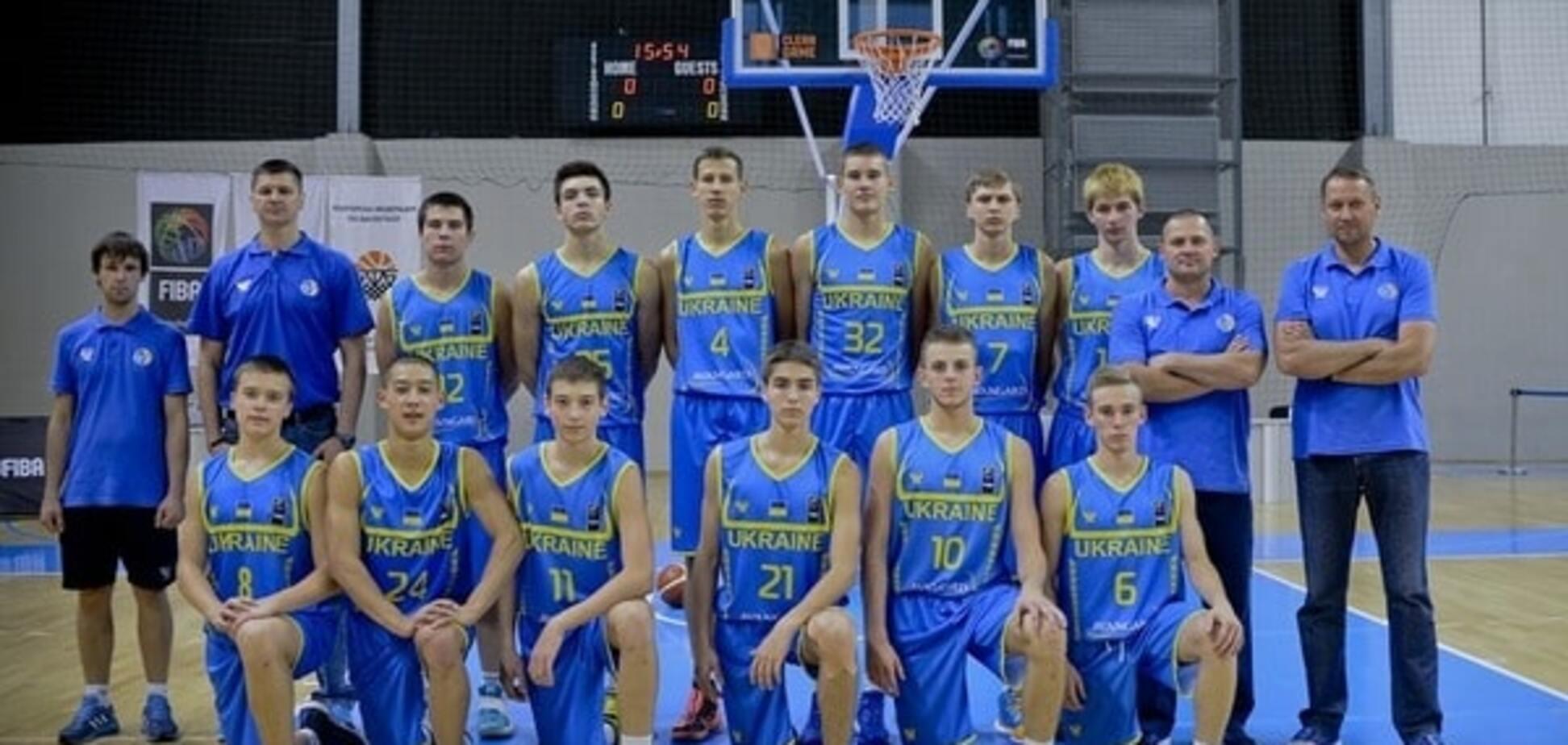 Сборная Украины по баскетболу U16