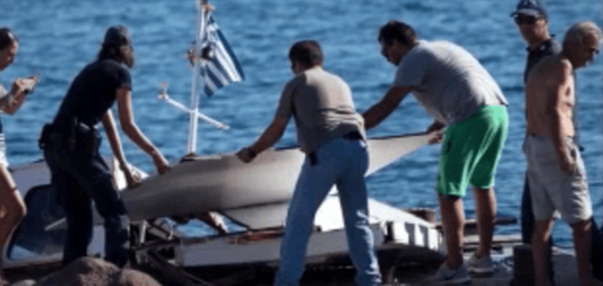 Авария у берегов Греции