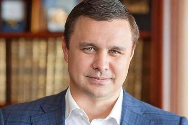 """Президент """"Укрбуд"""" и нардеп Максим Микитась"""