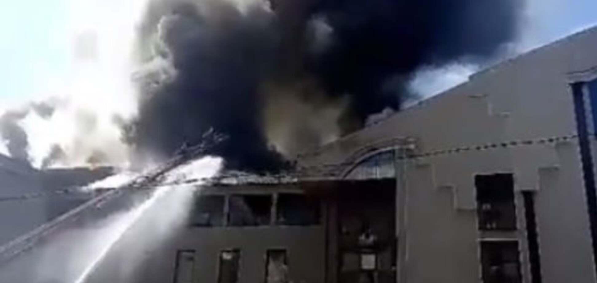 пожар офис Таруты
