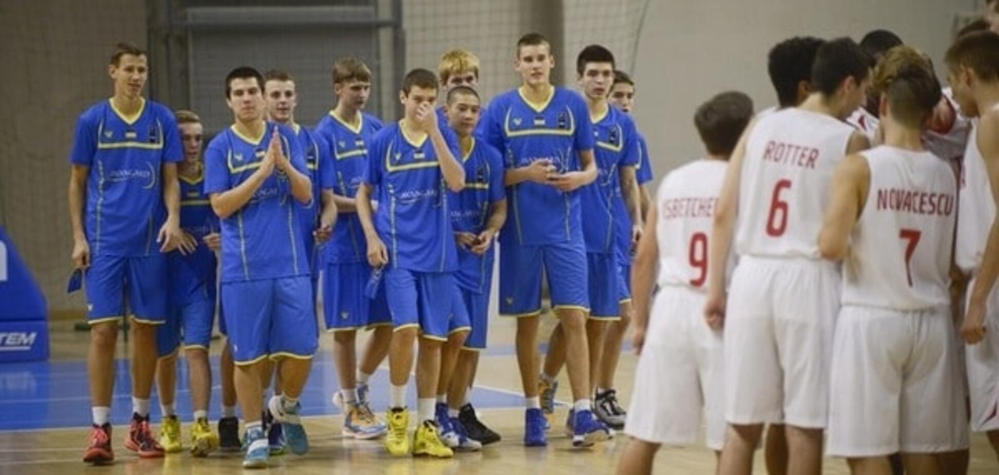 Кадетская сборная Украины по баскетболу