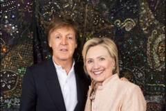 Пол Маккартні і Хілларі Клінтон