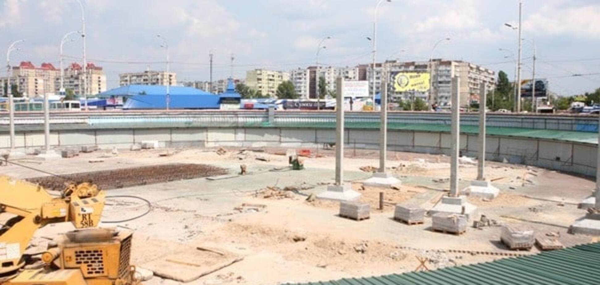 будівництво на Героїв Дніпра