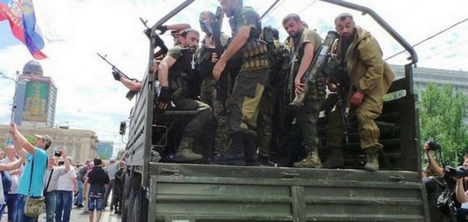 Чченцы на Донбассе