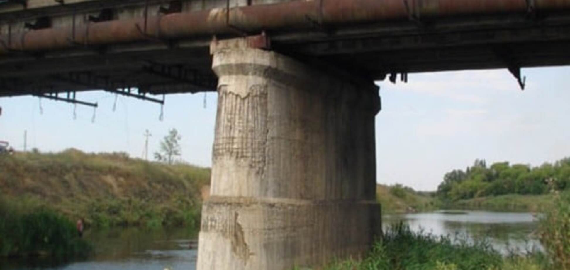 Мост в Славянске