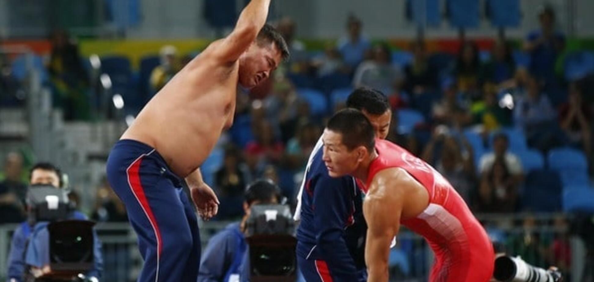 Скандал на Олимпиаде