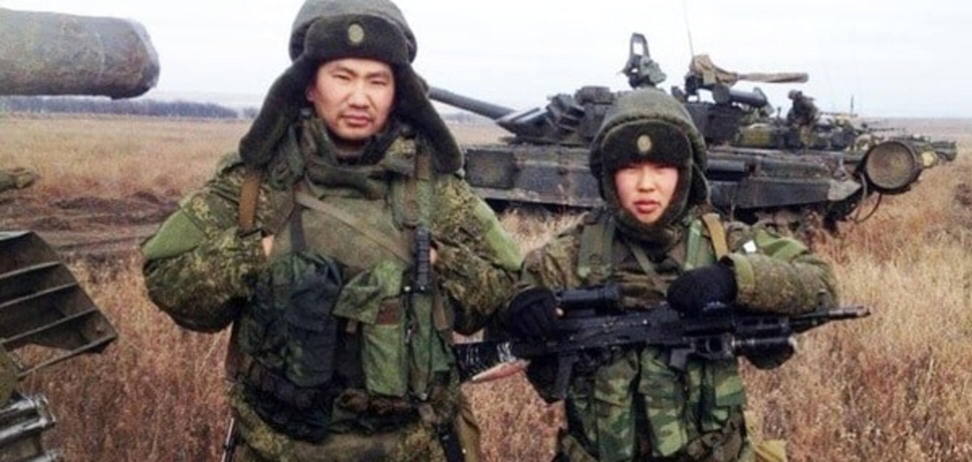 Военные буряты на Донбассе
