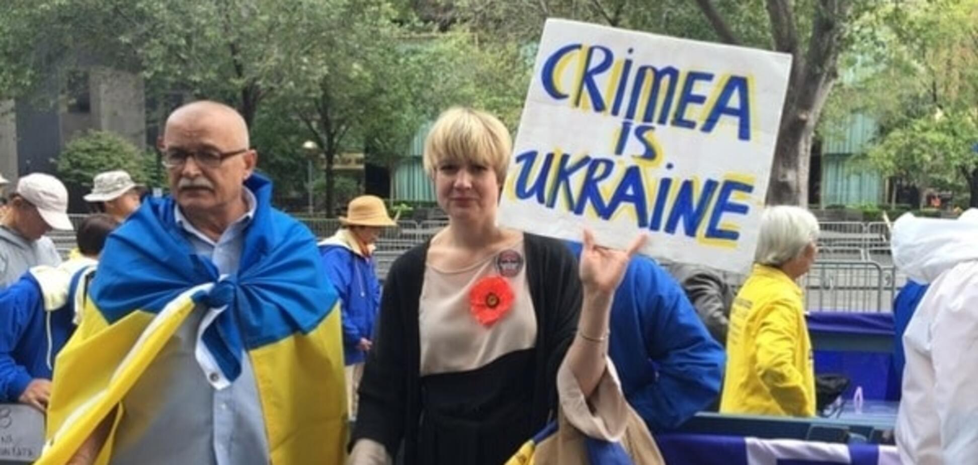 митинг против аннексии Крыма