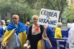 мітинг проти анексії Криму