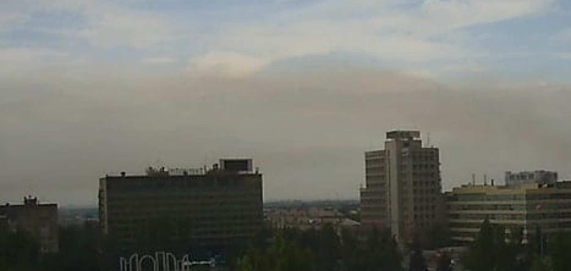 В День независимости в Запорожье накрыл смог выбросов с заводов (ФОТО)