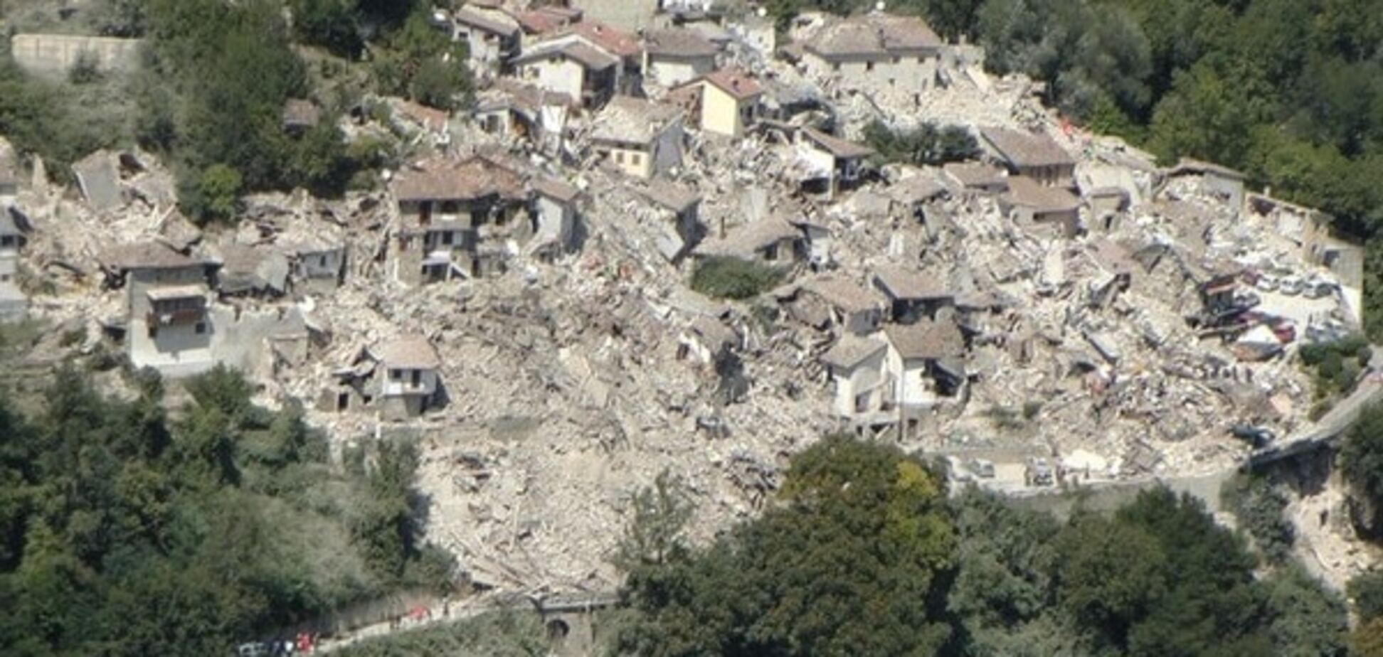землетрясение Италия