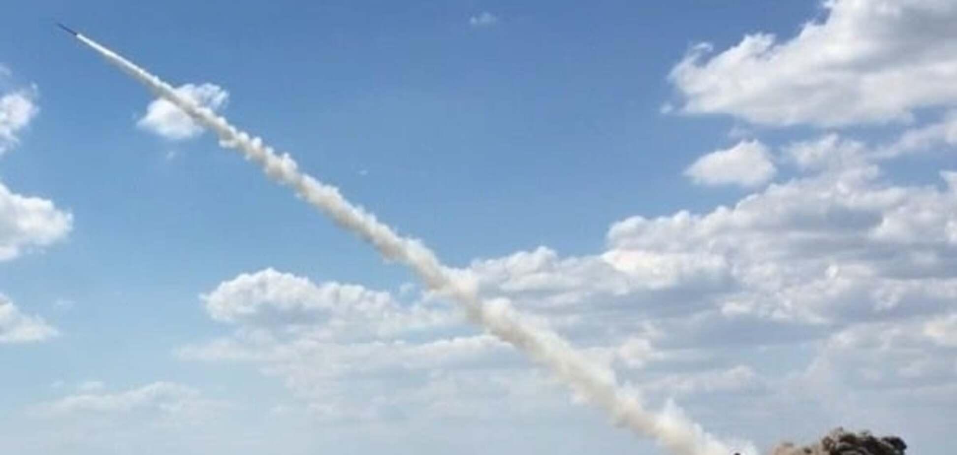 Пуск украинских ракет