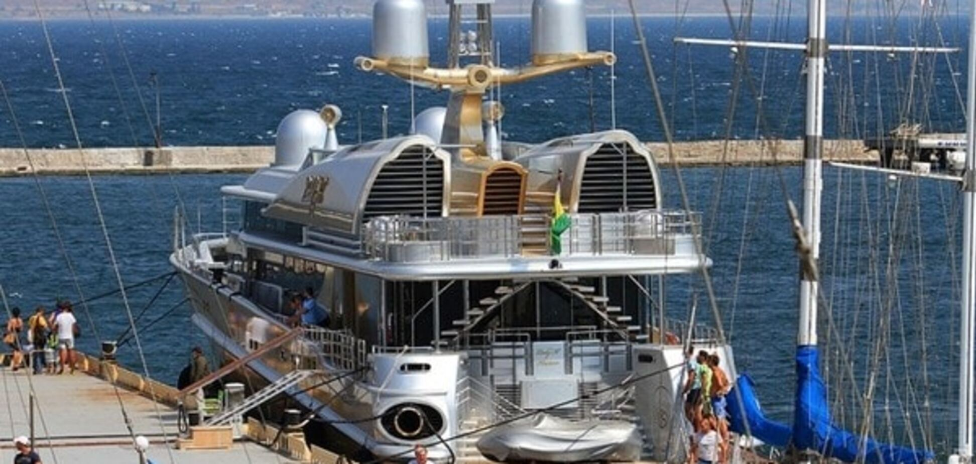 Яхта в Одессе