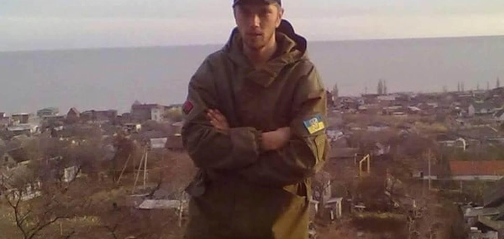 Боец АТО Владимир Шелудько