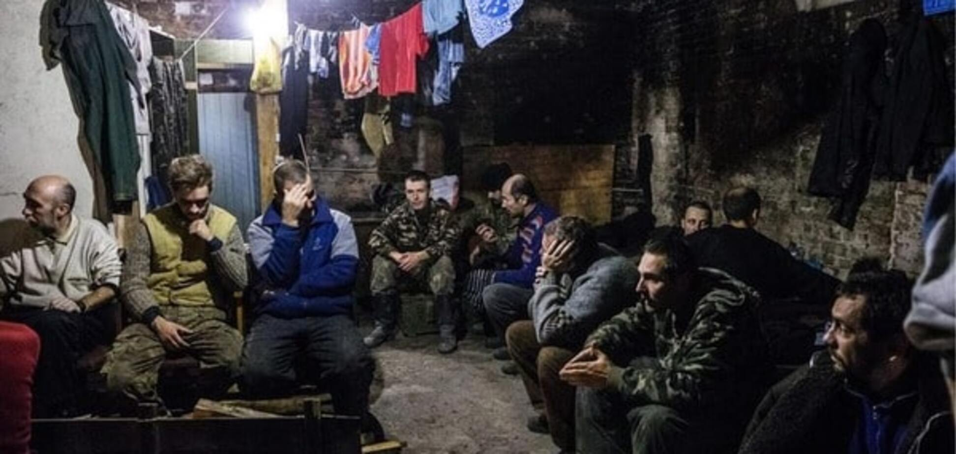 полонені бійці Донбас