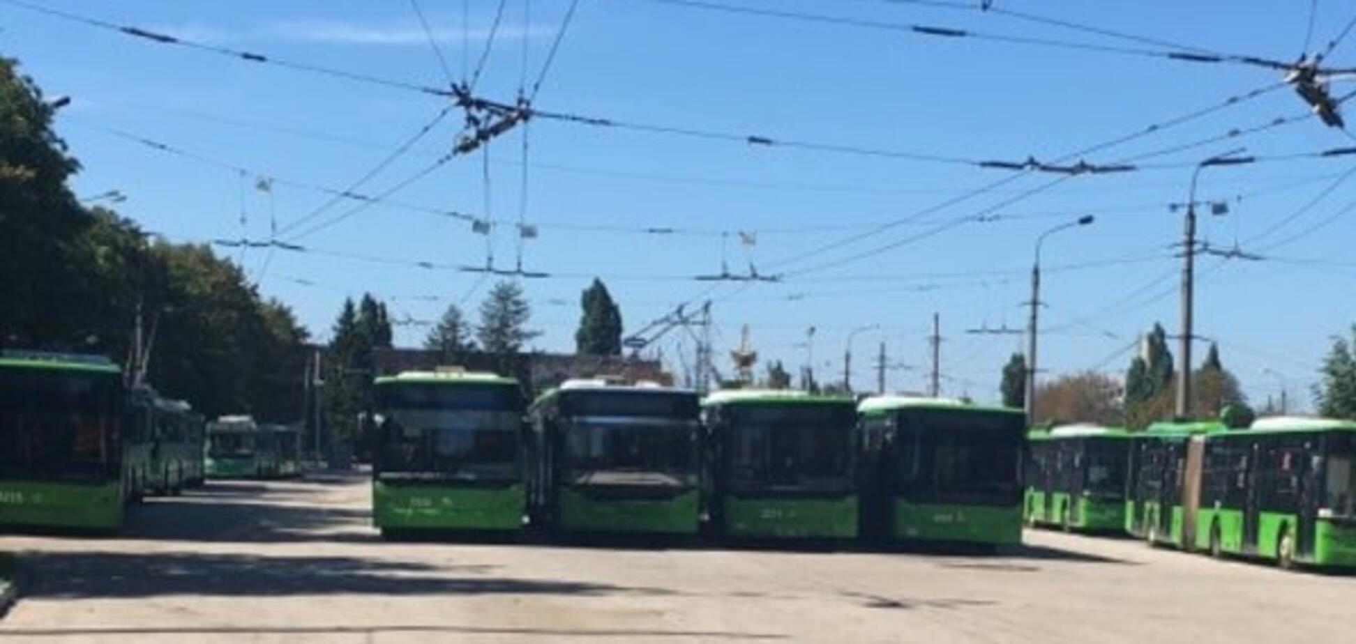 Тролейбуси в Харкові