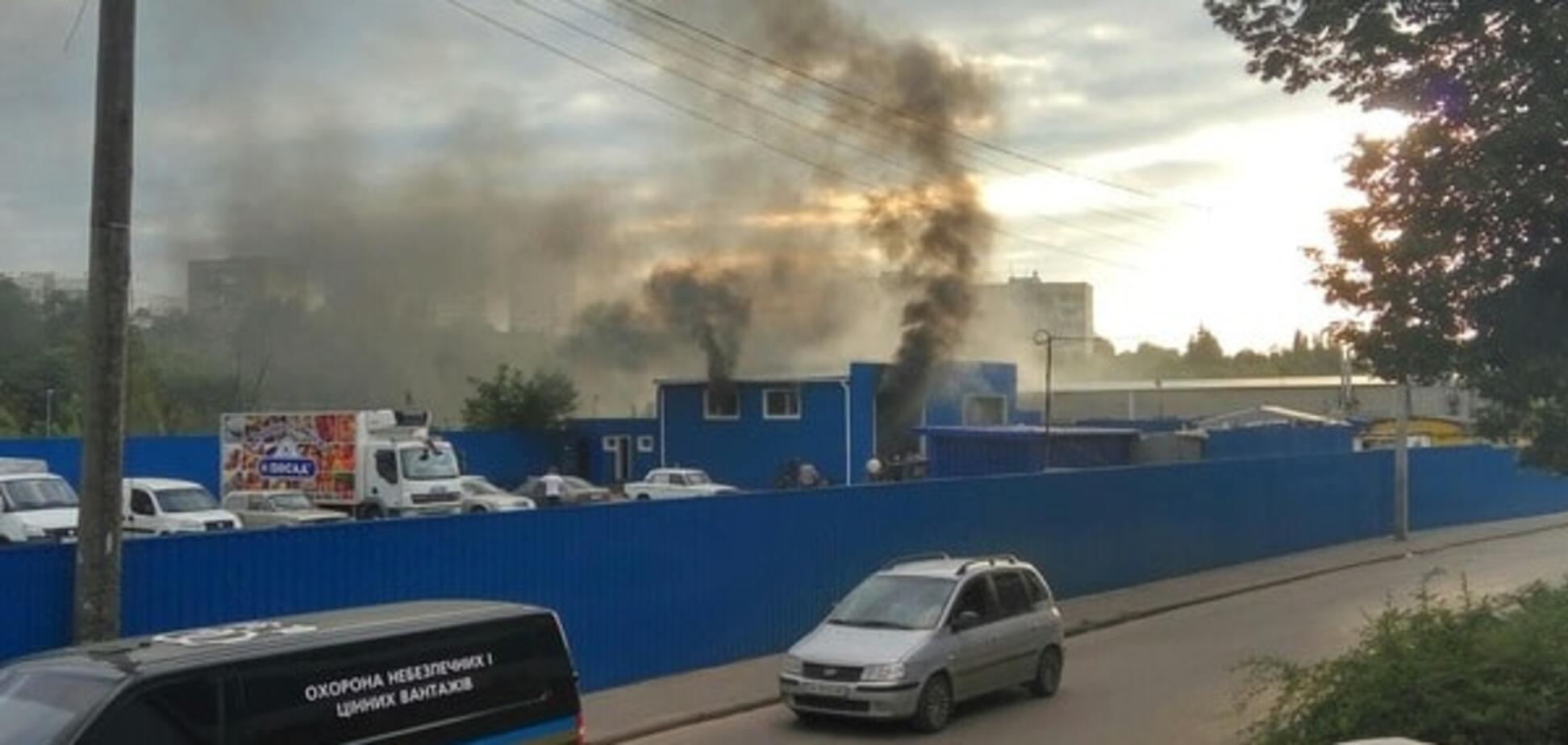 взрыв на Салтовке