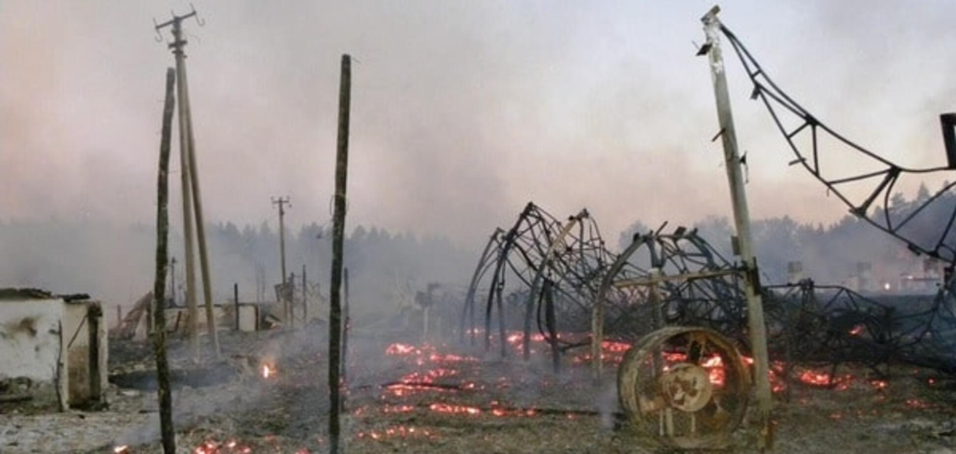 Пожар на Черниговщине