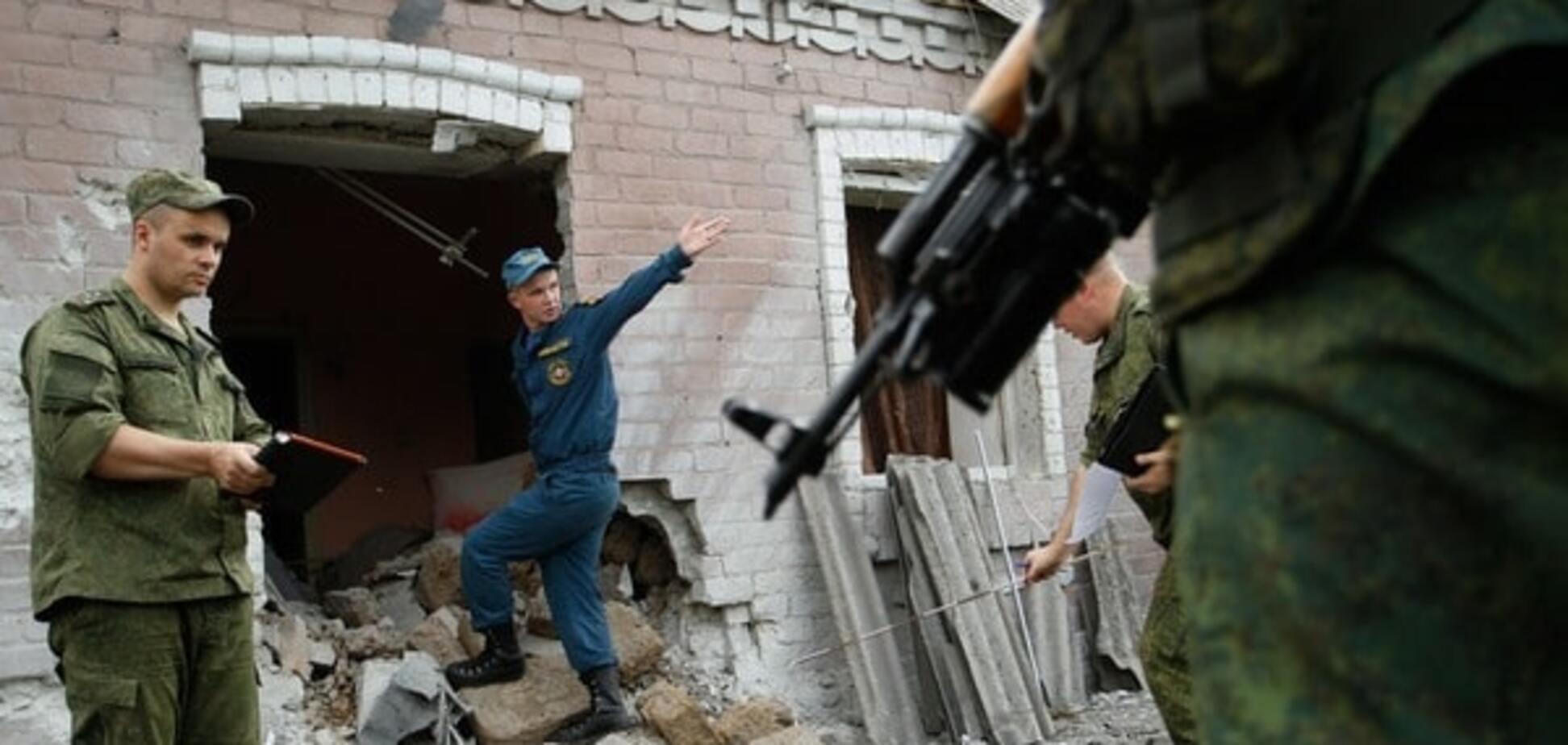 Танки, минометы и пулеметы: террористы обстреляли Авдеевку