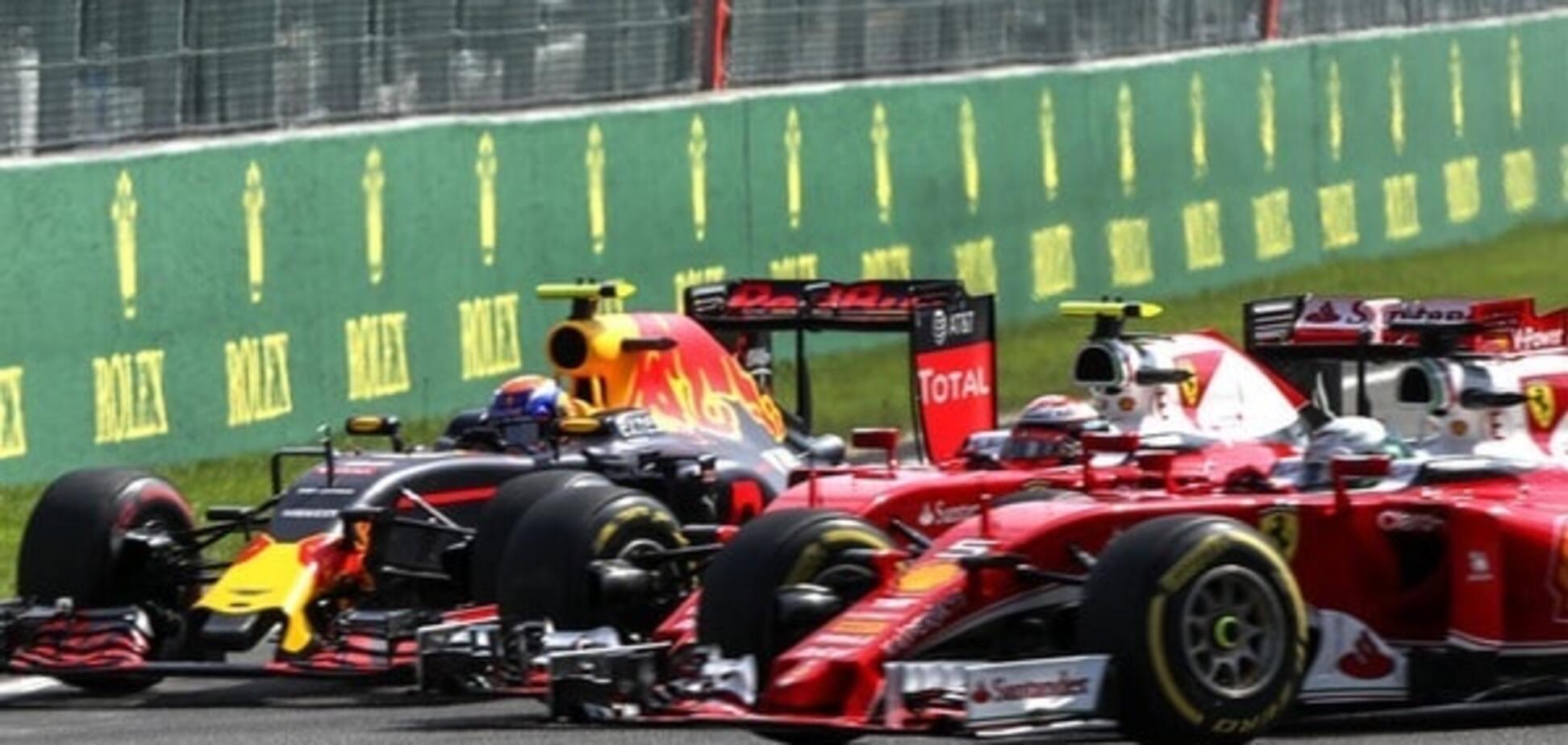 Red Bull Ferrari