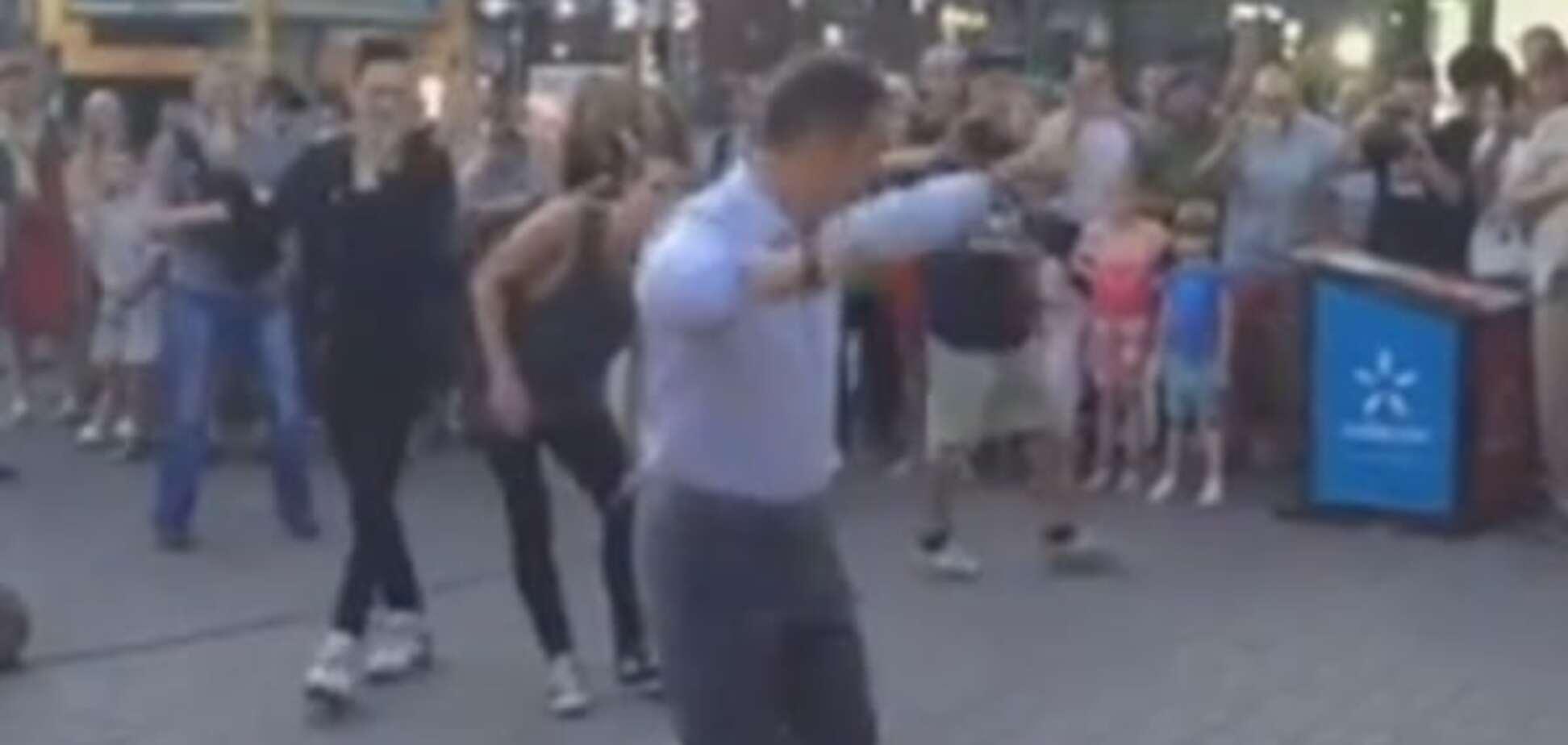 Ляшко танцует