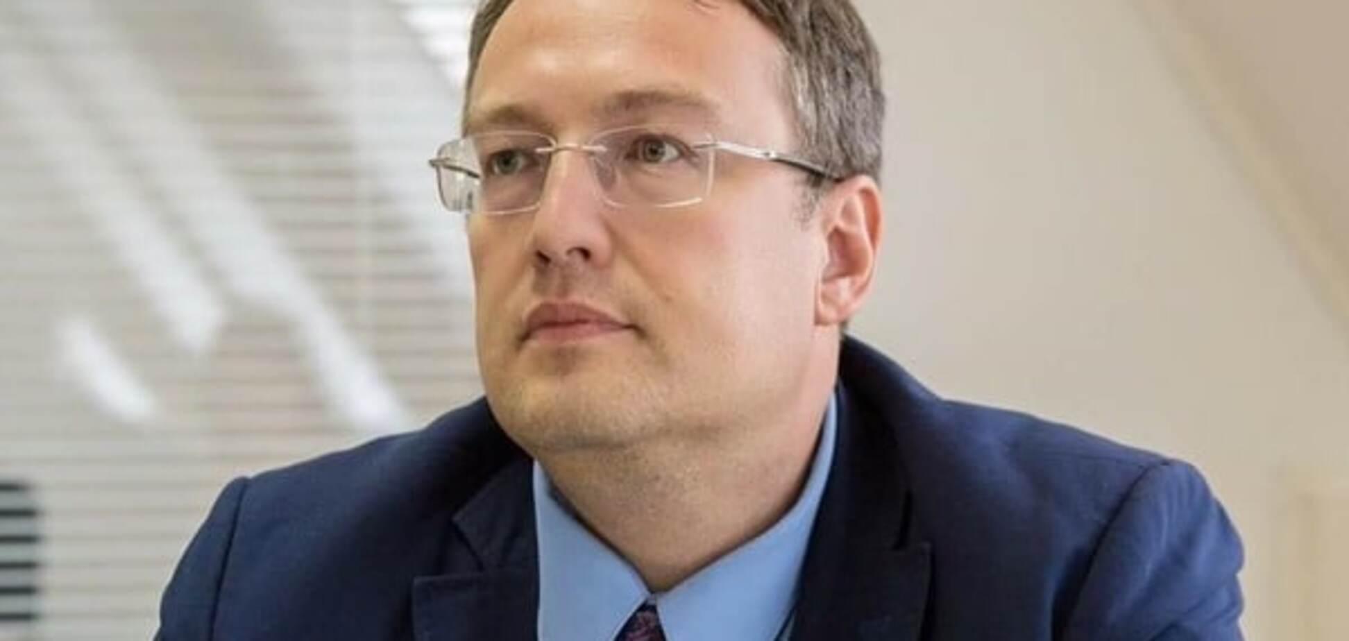 Советник министра МВД Антон Геращенко