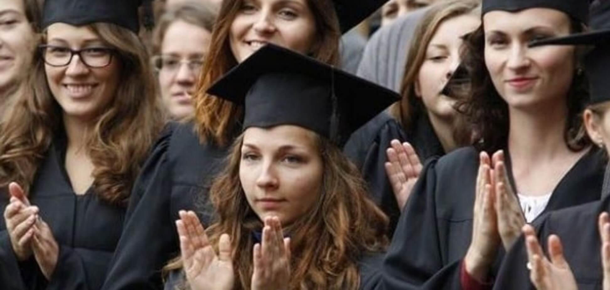 Украинские студенты